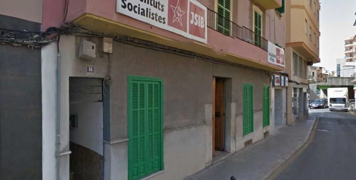 Sede del Socialistes d'Inca al carrer Campana